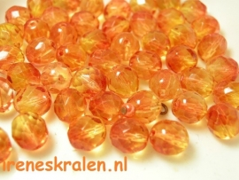 GO 49 Facetkraal 8mm oranje