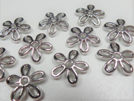 Beadcap 90: Open Flower, appx 12mm