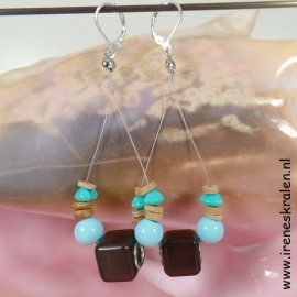TU0006a: Ibiza Bohemian Earrings