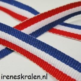 Band stof Holland, 12mm, per meter (wordt aaneen geleverd)