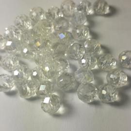 Gwit 010: FacetKraal Crystal 6x4mm