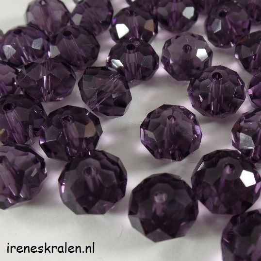 Gprs 002 Faceted Purple 8x10mm