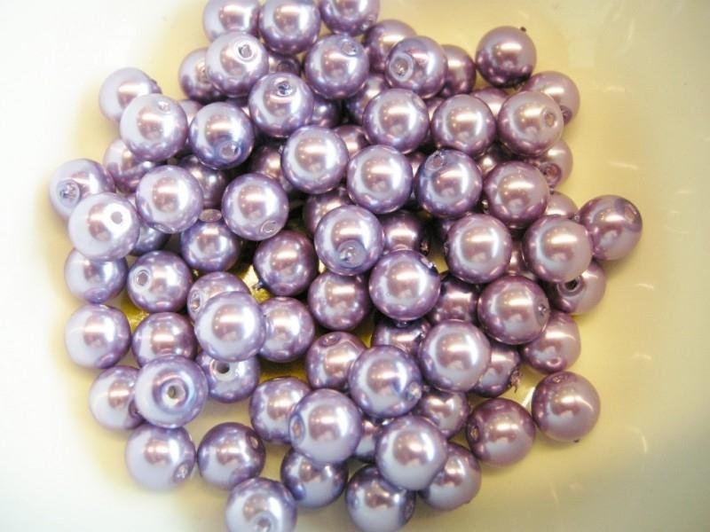 GlassPearl Purple 8mm