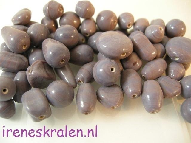 Gprs 008 Kralenmix Basis Lila Opaque, ca. 100 gram