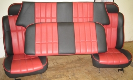 Compleet interieur: MPI Zwart/Rood