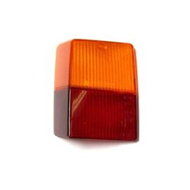 Achterlicht glas LH bovenste oranje