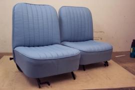 Compleet interieur: Mk1 Cooper Blauw/Grijs