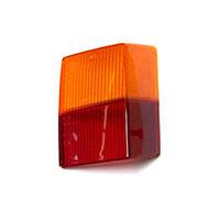 Achterlicht glas RH bovenste oranje