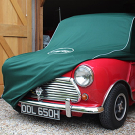 Cooper Mini cover racing green MK 1959 tm 1969