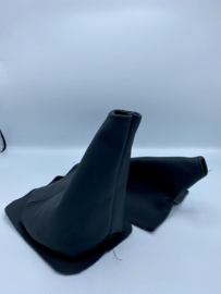 Pookhoes & Handremhoes Leder Zwart