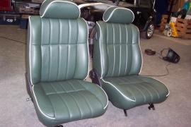Compleet interieur: MPI Donker groen