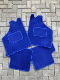 Mattenset blauw