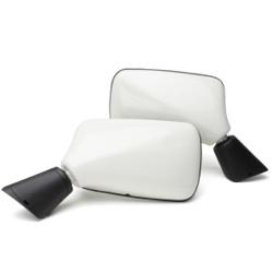 Mini spiegel set origineel wit