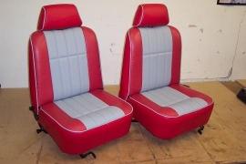 Compleet interieur: SPI Rood met grijs