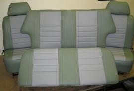 Compleet interieur: SPI Grijs en Classic Groen
