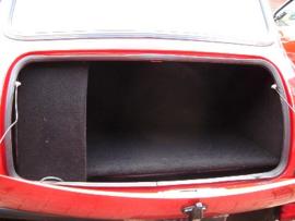 Kofferbak bekleding zwart