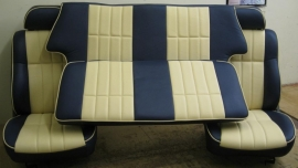 Compleet interieur: MPI Blauw en creme