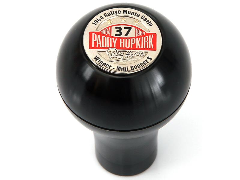 Pookknop Paddy Hopkirk zwart
