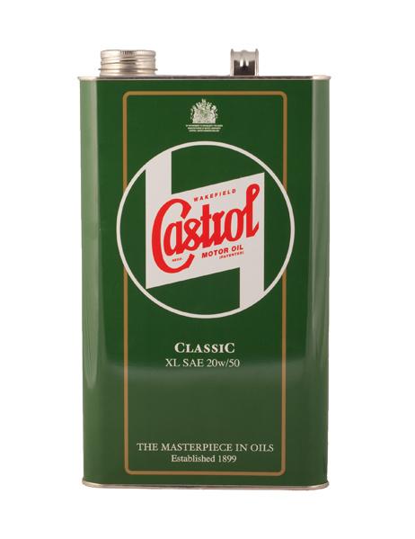 Castrol oil 5L 20W50