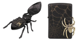 Zippo Black Spider crackle limited edition 1000pcs
