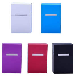 Sigaretten box aluminium color (12)
