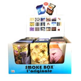 Smokebox sigt. etui met aanstekerhouder (18)