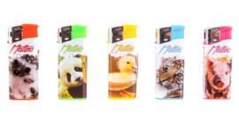 Aansteker piezo mini Cute animals (50)