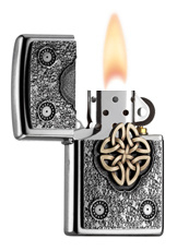 2004750 PL EMBLEM-LIGHTER WITH CELTIC KNOT