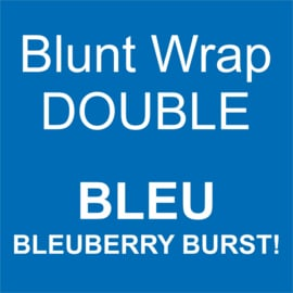 Blunt Wrap Double BLEU (Bleuberry Burst) (25)