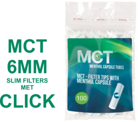 MCT Click filters 6mm 100st (20)
