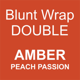 Blunt Wrap Double Platinum AMBER (Peach Passion) (25)