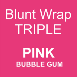 Blunt Wrap Triple Platinum PINK (Bubble Gum) (15)