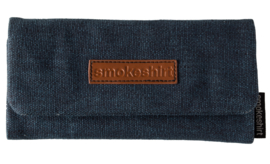 Smokeshirt roll-up shagetui Jeans blauw