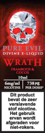 Pure Evil 10ml 6mg/ml Wrath