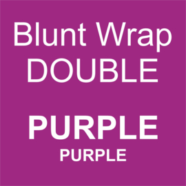 Blunt Wrap Double Platinum PURPLE (Purple) (25)