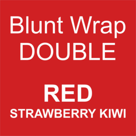 Blunt Wrap Double Platinum RED (Strawberry Kiwi) (25)