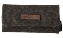 Smokeshirt roll-up shagetui Jeans zwart
