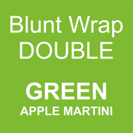Blunt Wrap Double Platinum GREEN (Apple Martini) (25)