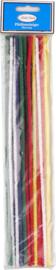 Pijpreinigers  30 cm gekleurd 25st