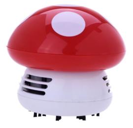 Mushroom tafelstofzuiger rood
