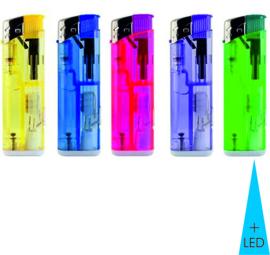 Aansteker piezo met LED (50)