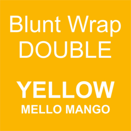 Blunt Wrap Double Platinum YELLOW (Mello Mango) (25)