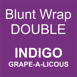 Blunt Wrap Double Platinum INDIGO (Grape a Licious) (25)