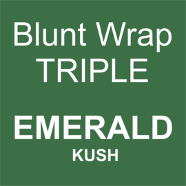 Blunt Wrap Triple Platinum EMERALD (Kush) (15)