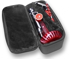 Shisha koffer 57x22x22cm black EXCLUSIEF WATERPIJP!