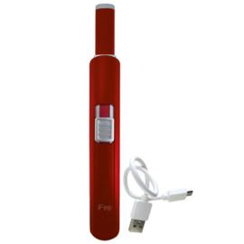 """iFire arc """"plasma"""" aansteker midi rood"""