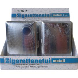 Sigarettenkoker metaal 100mm clip (6)