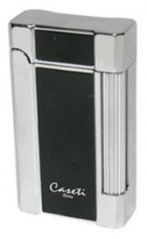 Caseti Lighter N.Y. Black-Chr.
