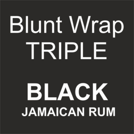 Blunt Wrap Triple Platinum BLACK (Jamaican Rum) (15)
