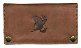 "Luxe Leder Shagetui Hunter brown ""Cowboy"""